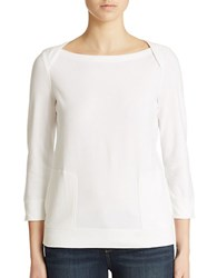 Lord And Taylor Lounge Top White