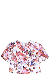 Mary Katrantzou Bree Top White
