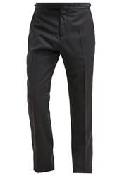 Reiss Starling Suit Trousers Burgundy Bordeaux