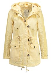 Khujo Inila Parka Cream Light Yellow