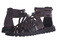 Massimo Matteo Back Zip Gladiator T.Moro Men's Sandals Brown