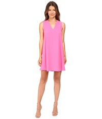 Mcq By Alexander Mcqueen Flared Tank Dress Shocking Pink