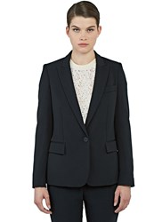 Stella Mccartney Ingrid Single Breasted Blazer Jacket Black