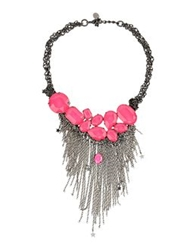 Malababa Necklaces Fuchsia