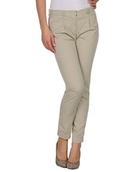 Incotex Red Trousers Formal Trousers Women Beige