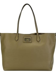 Hogan Classic Shopping Tote Green