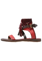 A.S.98 Sandals Red