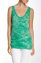 Alternative Apparel Burnout Tank Green