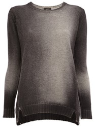 Avant Toi Gradient Jumper Black