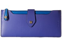 Lodis Blair Sandy Multi Pouch Wallet Violet Cobalt Clutch Handbags Blue
