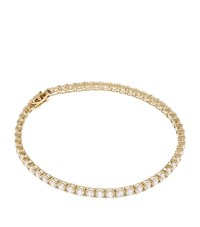 Carat 5Ct Round Tennis Bracelet Female White Gold