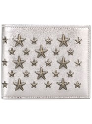 Jimmy Choo 'Mark' Wallet Metallic