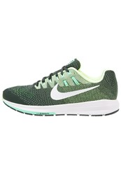 Nike Performance Air Zoom Structure 20 Stabilty Running Shoes Seaweed White Ghost Green Green Glow Shark Black Oliv