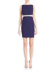 Decode 1.8 Cutout Sheath Dress Navy