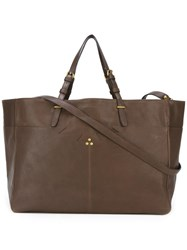 Jerome Dreyfuss 'Maurice' Tote Brown
