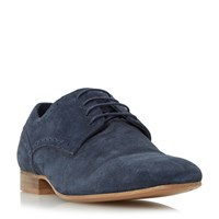 Linea Brownies Punch Hole Detail Derby Shoe Navy