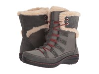 Aetrex Berries Short Lace Up Boot Greyberry Women's Cold Weather Boots Gray