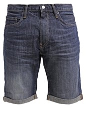 Gap Denim Shorts Dark Tinted Stone Dark Blue