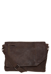 Zign Across Body Bag Dark Brown