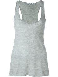 Helmut Lang Knit Tank Top Grey