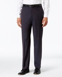 Inc International Concepts Men's Todd Classic Fit Flat Front Pants Only At Macy's Wine