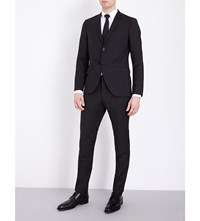 Tiger Of Sweden Jil Slim Fit Wool Suit Charcoal