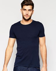 United Colors Of Benetton Crew Neck T Shirt Navy Blue
