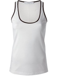 Givenchy Trim Detail Tank Top White