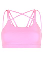Gap Sports Bra Neon Impulsive Pink