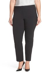 Lafayette 148 New York Plus Size Women's Stretch Wool Ankle Pants