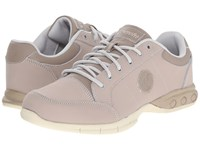 Therafit London Oxford Taupe Women's Lace Up Casual Shoes