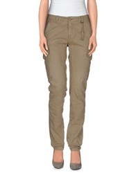 40Weft Trousers Casual Trousers Women Khaki