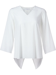 Astraet Cross Back Blouse White