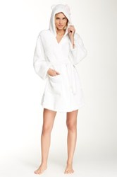 Hello Kitty And Paul Frank Hooded Robe White