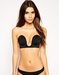 Fashion Forms U Plunge Backless And Strapless Bra Black
