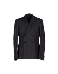Boss Black Blazers Steel Grey