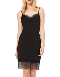 Miss Selfridge Lace Cami Dress Black