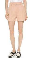 Mcq By Alexander Mcqueen Tux Shorts Blush