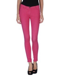 Who S Who Denim Pants Fuchsia