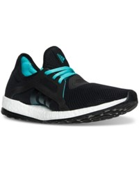 Adidas Women's Pure Boost X Closed Mesh Running Sneakers From Finish Line