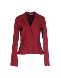 Liviana Conti Suits And Jackets Blazers Women Garnet