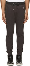 Diesel Grey And Black P Herk Lounge Pants