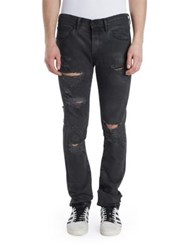 Off White Slim Fit Jeans Clay