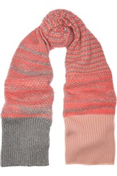 Jil Sander Cashmere And Mohair Blend Scarf