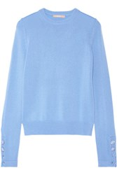 Michael Kors Collection Cashmere Sweater Light Blue
