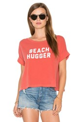 Amuse Society Blab Out Loud Tee Red