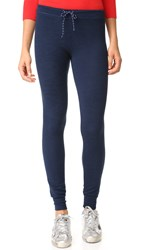 Sundry Skinny Sweatpants Heather Navy