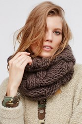 Free People Womens Cozy Cable Knit Snood