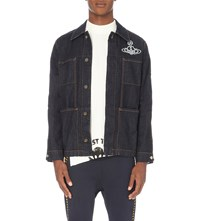 Anglomania Workers Denim Jacket Blue
