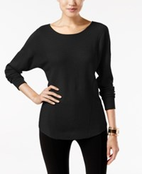 Grace Elements Scoop Neck Sweater Black